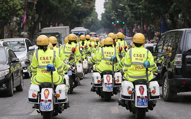 Hà Nội cấm xe hàng loạt tuyến phố dịp thượng đỉnh Mỹ - Triều