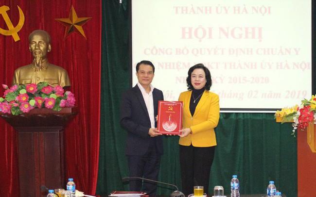 Hà Nội có Chủ nhiệm Ủy ban Kiểm tra Thành ủy mới