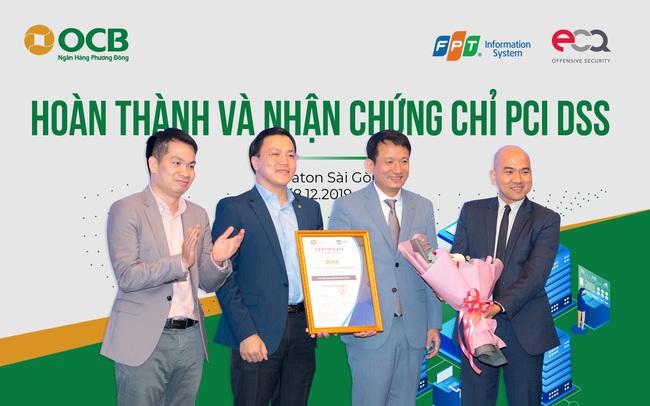 OCB triển khai thành công nền tảng ngân hàng mở và nhận chứng chỉ PCI DSS