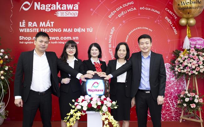 Phát triển thương mại điện tử, Nagakawa chính thức gia nhập cuộc chơi 4.0