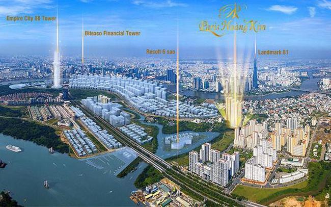 Sức hút của dự án Paris Hoàng Kim