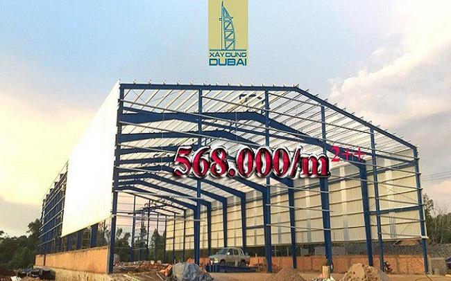 Công ty xây dựng Dubai mở đợt giảm giá xây dựng nhà xưởng kịch sàn năm 2019