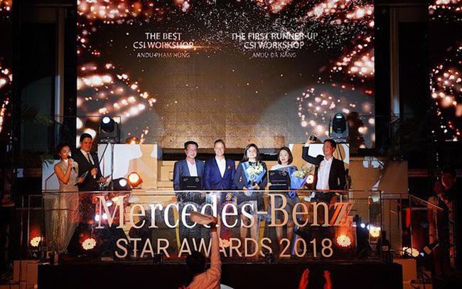 Mercedes-Benz An Du xuất sắc giành nhiều giải thưởng quan trọng tại Lễ tôn vinh Đại lý năm 2018 của Mercedes-Benz Việt Nam