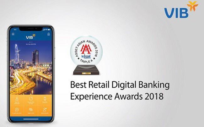VIB nhận hai giải thưởng quốc tế uy tín về ngân hàng số