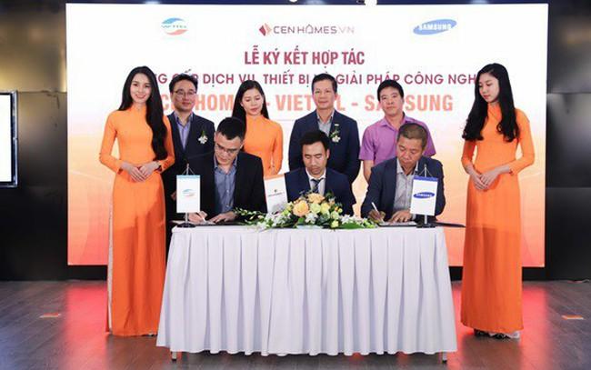 Các tập đoàn công nghệ lớn cùng Cenhomes thay đổi cách thức giao dịch bất động sản