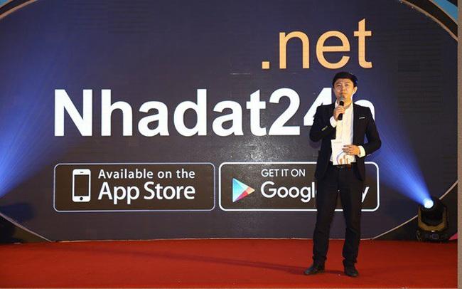 Ứng dụng Nhadat24h.net - Giải pháp công nghệ 4.0 cho thị trường bất động sản