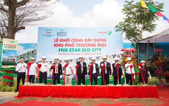 Five Star Eco City khởi công khu phố thương mại thuộc tập đoàn Quốc tế Năm Sao