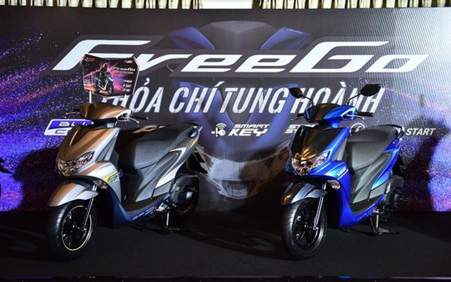 Yamaha Freego – tâm điểm xe tay ga