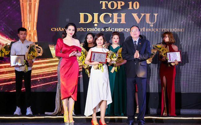 Dr. Hana chinh phục giải thưởng Top 10 thương hiệu Quốc tế chăm sóc sức khỏe và sắc đẹp được tin dùng 2019