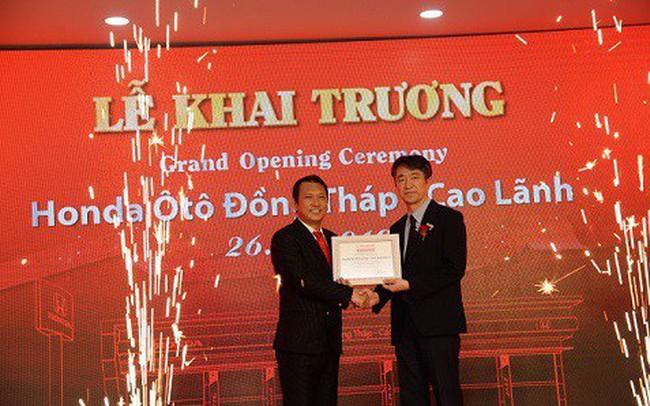Honda Việt Nam khai trương Đại lý Honda Ôtô đạt chuẩn 5S tại Đồng Tháp