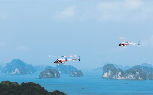 """Dịch vụ du lịch bằng trực thăng tại Việt Nam: """"Đắt xắt ra miếng"""""""