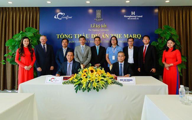 Hongkong Land Công bố Coteccons là Tổng thầu dự án The Marq