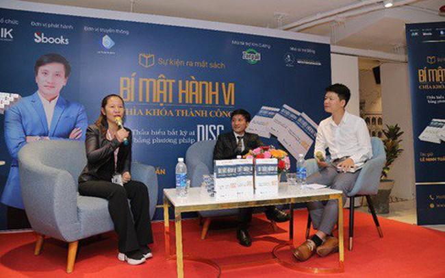 Tác giả Lê Minh Tuấn ra mắt sách 'Bí mật hành vi - Chìa khóa thành công'
