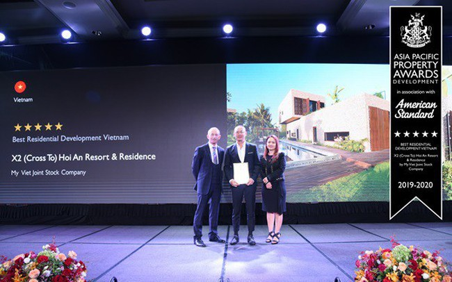 X2 Hội An Resort & Residence giành giải thưởng Bất động sản quốc tế 2019
