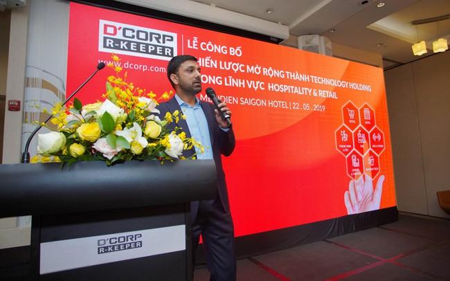 Dcorp R-Keeper thực hiện cú đại nhảy vọt trở thành Technology Holding