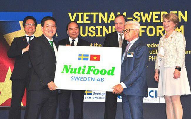 NutiFood - первая молочная компания Вьетнама, которая строит свою фабрику в Швеции