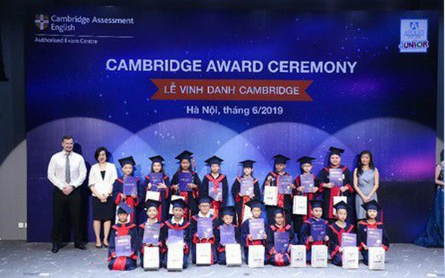 Vinh danh học viên đạt chứng chỉ Cambridge, Apollo English khẳng định chất lượng đào tạo vượt trội