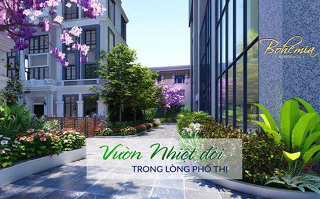 Bohemia Residence số 2 Lê Văn Thiêm: Vườn nhiệt đới trong lòng phố thị
