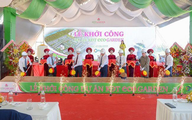 Cotana Group khởi công dự án KĐT Eco garden tại Huế