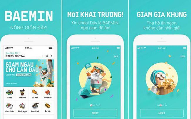 BAEMIN – Ứng dụng giao đồ ăn hàng đầu Hàn Quốc đã có mặt tại Việt Nam
