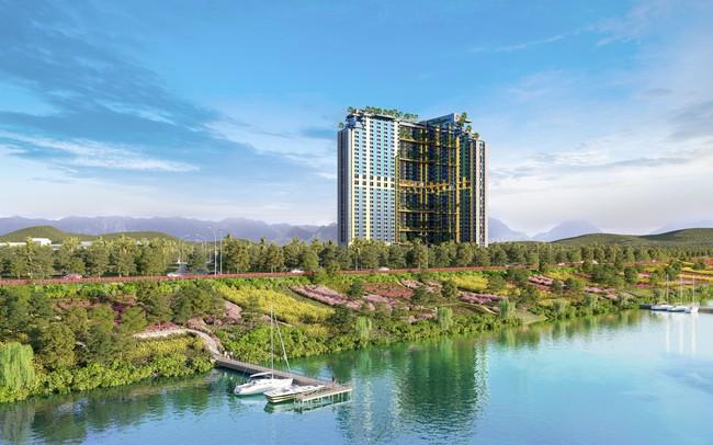 Xuất hiện sản phẩm căn hộ khách sạn tại mỏ khoáng nóng gần Hà Nội