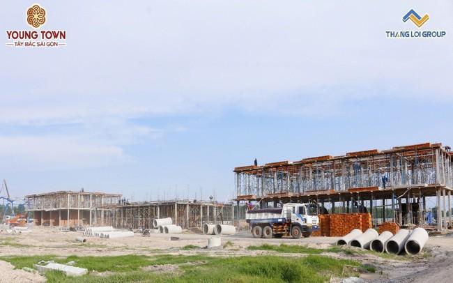 Long An: Sở hữu nhà phố Young Town nhận ngay ki ốt chợ trị giá 400 triệu