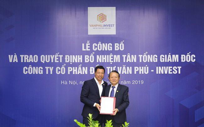 Công ty CP Đầu tư Văn Phú - Invest bổ nhiệm ông Đoàn Châu Phong giữ chức Tổng giám đốc Công ty