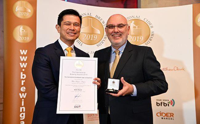 Giải thưởng quốc tế dành cho dòng Bia Lager dung tích nhỏ