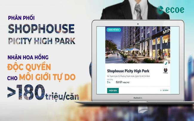 Picity High Park – khởi đầu chiến dịch của ECOE dành cho môi giới bất động sản tự do