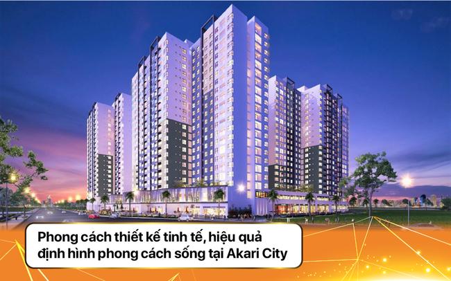 Phong cách thiết kế tinh tế, hiệu quả định hình phong cách sống tại Akari City - ảnh 1