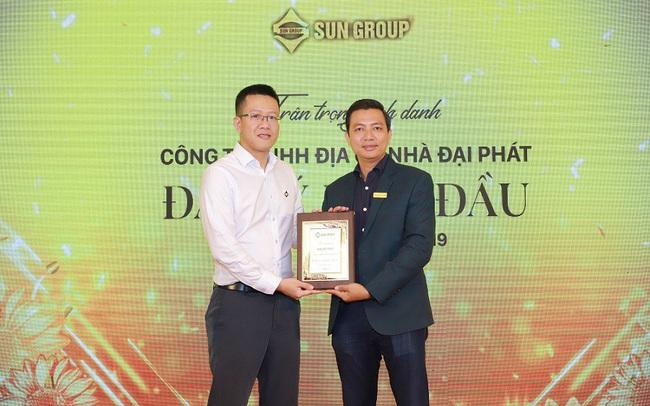 Nhà Đại Phát được vinh danh Đại Lý Dẫn Đầu nửa đầu năm 2019 của Sun Group