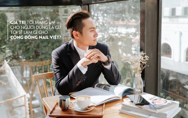 Trịnh Gia Phú – chàng 9X tâm huyết với ngành Nail Việt