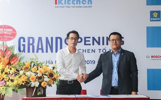 Hãng phụ kiện tủ bếp Eurogold hợp tác chiến lược với hệ thống siêu thị bếp iKitchen