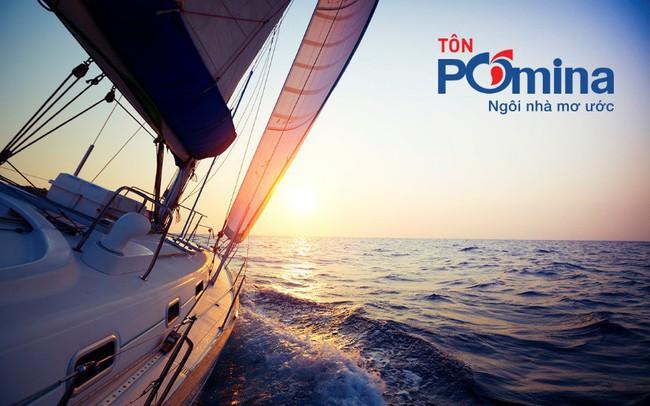Chỉ sau hai tháng đi vào sản xuất, Tôn Pomina đã có lô hàng xuất khẩu đầu tiên, đặt chân vào thị trường quốc tế