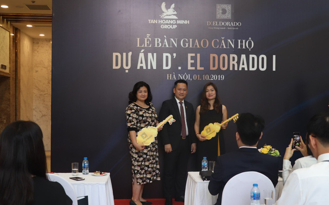 Dự án D'.El Dorado I bàn giao những căn hộ đầu tiên cho khách hàng