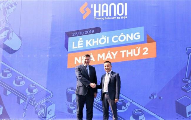 Sơn Hà Nội từng bước thực hiện tham vọng Quốc tế hóa thương hiệu sơn Việt