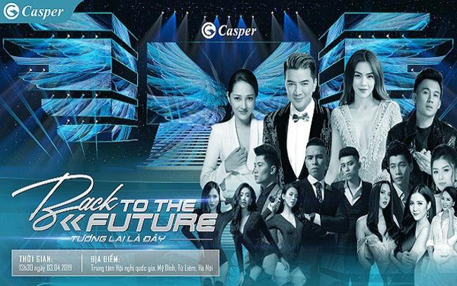 Casper đánh dấu 4 năm hiện diện tại Việt Nam bằng đêm Đại nhạc hội hoành tráng