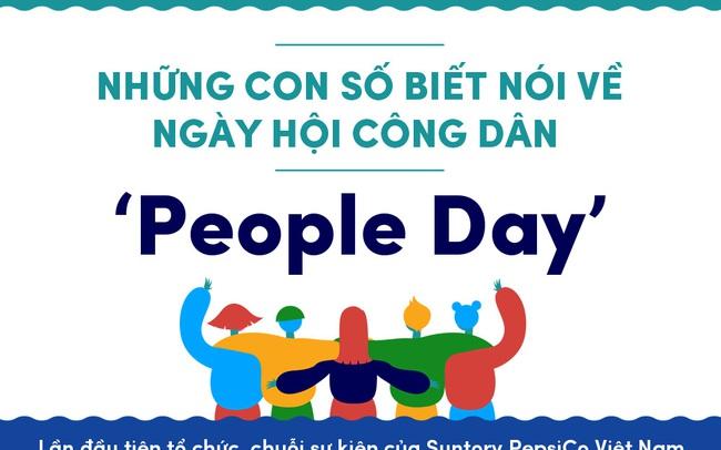 Những con số biết nói về ngày hội Công dân 'People Day'