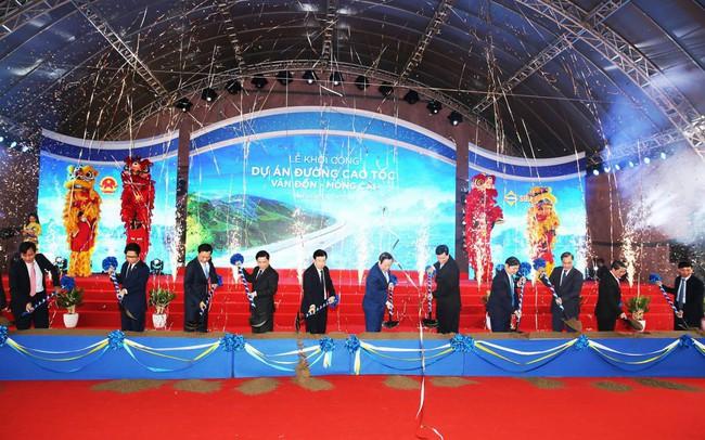 Chính thức khởi công dự án cao tốc Vân Đồn – Móng Cái dài nhất Quảng Ninh