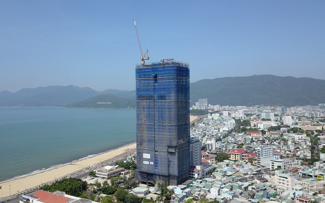 Chuẩn bị cất nóc dự án nghỉ dưỡng cao bậc nhất miền Trung