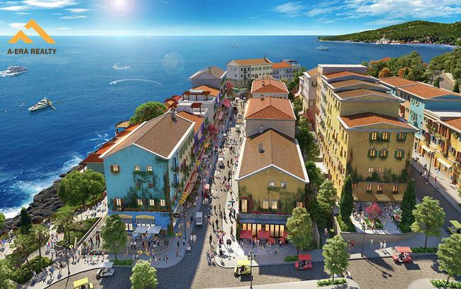 Shophouse Địa Trung Hải tăng khả năng thu hút và níu chân du khách