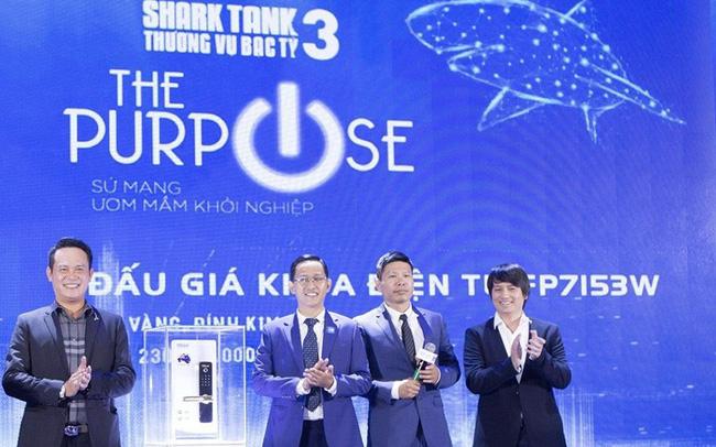 Khám phá chiếc khóa thông minh độc nhất được Shark Hồng Anh đấu giá hàng trăm triệu