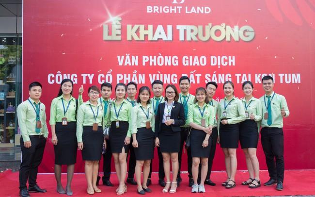 Bright Land ghi nhận sự đột phá của văn phòng giao dịch tại Kon Tum