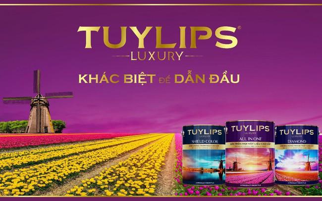 Ra mắt dòng sơn cao cấp Tuylips Luxury – Khác biệt để dẫn đầu
