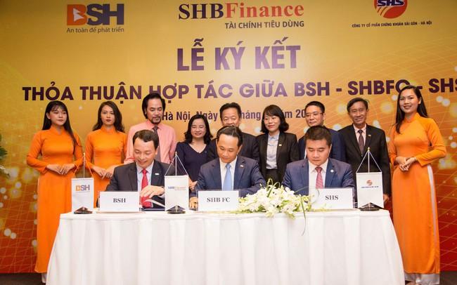 SHB Finance, SHS và BSH phát huy nội lực – hợp tác bền vững