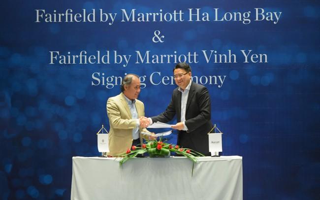 Fairfield by Marriott® lần đầu tiên cùng ký kết hai hợp đồng quản lý khách sạn tại Việt Nam