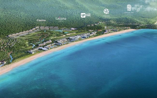 Tầm cỡ khu nghỉ dưỡng Casino thuộc tập đoàn Banyan Tree tại Laguna Lăng Cô, Huế