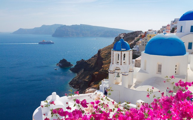 """Cyclades """"những hòn đảo thiên đường của Hy Lạp"""""""