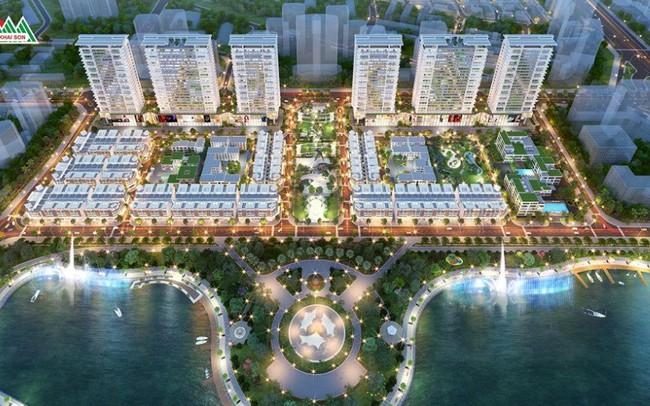 Khai Sơn Town ra hàng những căn Shophouse sầm uất nhất dự án