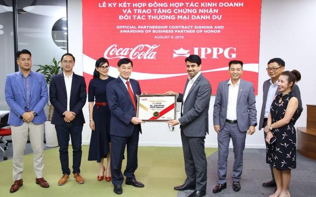 Đẩy mạnh hợp tác chiến lược, Coca-Cola Việt Nam và IPPG hướng đến phát triển bền vững